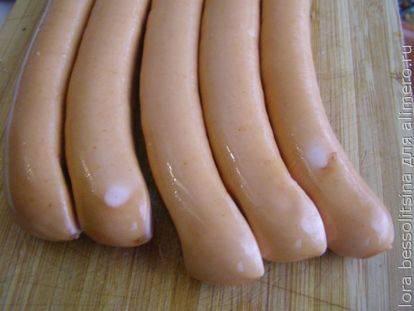 Рецепт хот-дога