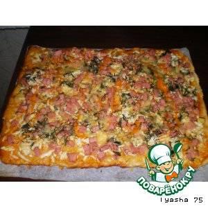 Моя домашняя пицца