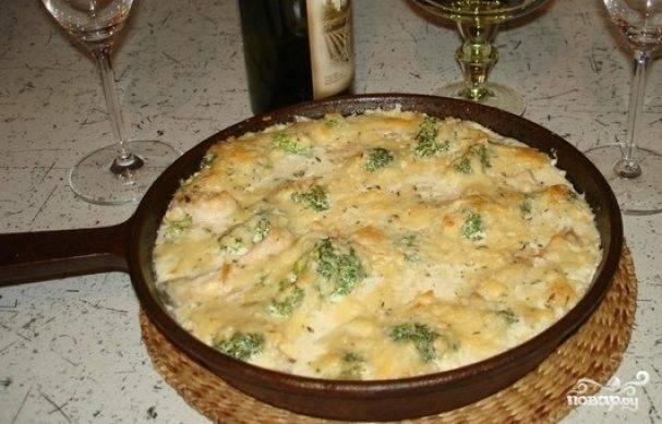Курица в сливочном соусе на сковороде – 8 рецептов