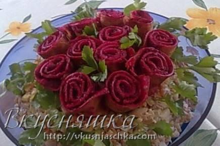 Блинчики весенний букет. рецепт блинчиков вкусных и красивых. блинчики с начинкой