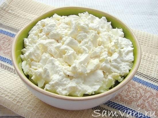 Творог из свежего молока в домашних условиях - 7 пошаговых фото в рецепте