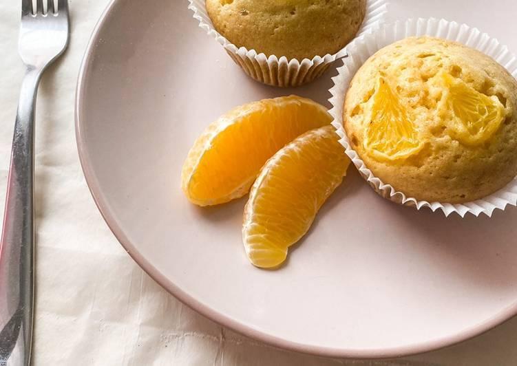 Как приготовить апельсиновые маффины по пошаговому рецепту с фото