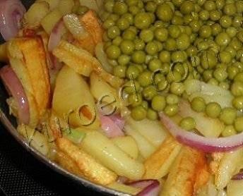 Горохово-картофельное пюре