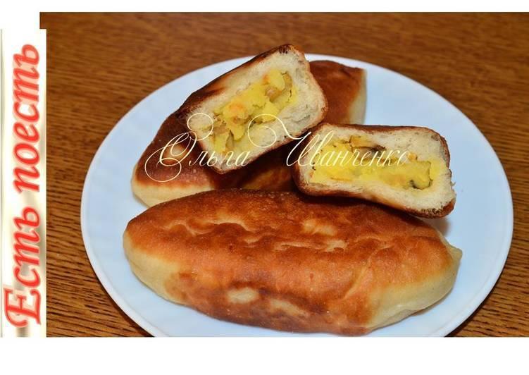 Пирожки с картошкой и грибами в духовке