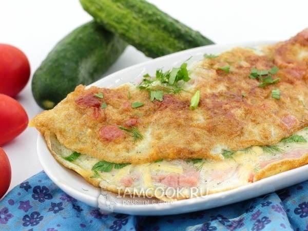 Омлет с сыром рецепт на сковороде – как быстро приготовить идеальный завтрак.