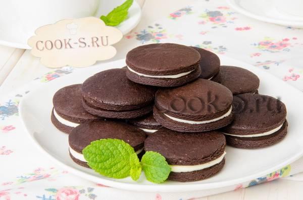 Печенье орео - рецепты в домашних условиях с арахисовой пастой, белым шоколадом