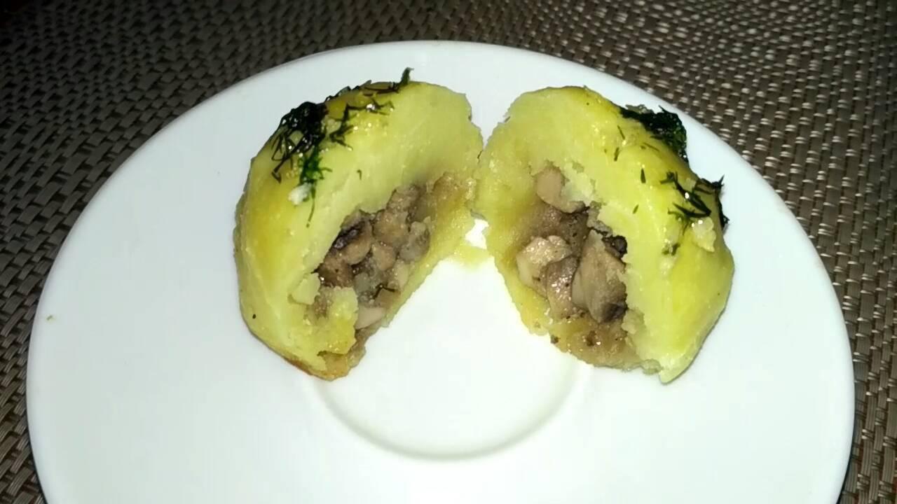 Хрустящие картофельные шарики, рецепт с фото