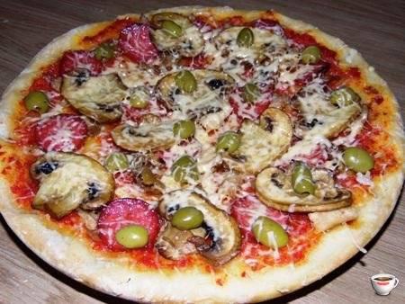 Бездрожжевое тесто для пиццы: популярные рецепты с фото