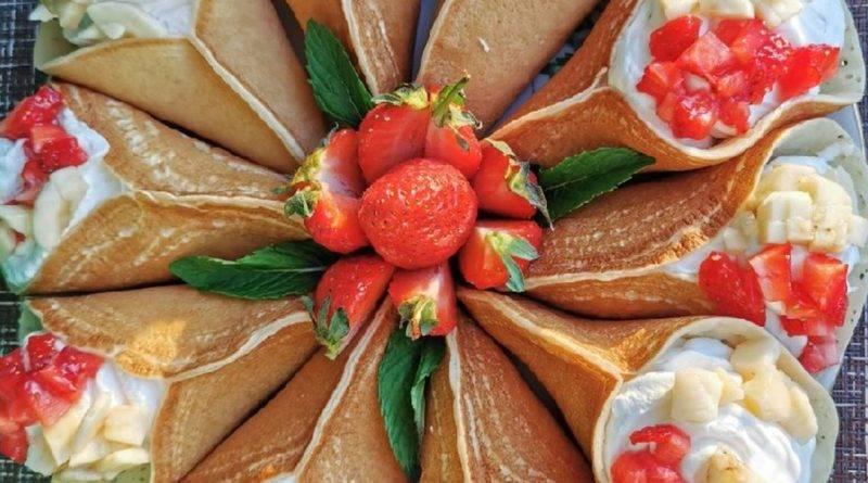 Рецепт арабских блинчиков катаеф