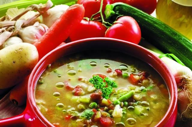 Итальянский суп «минестроне» – пошаговый классический рецепт
