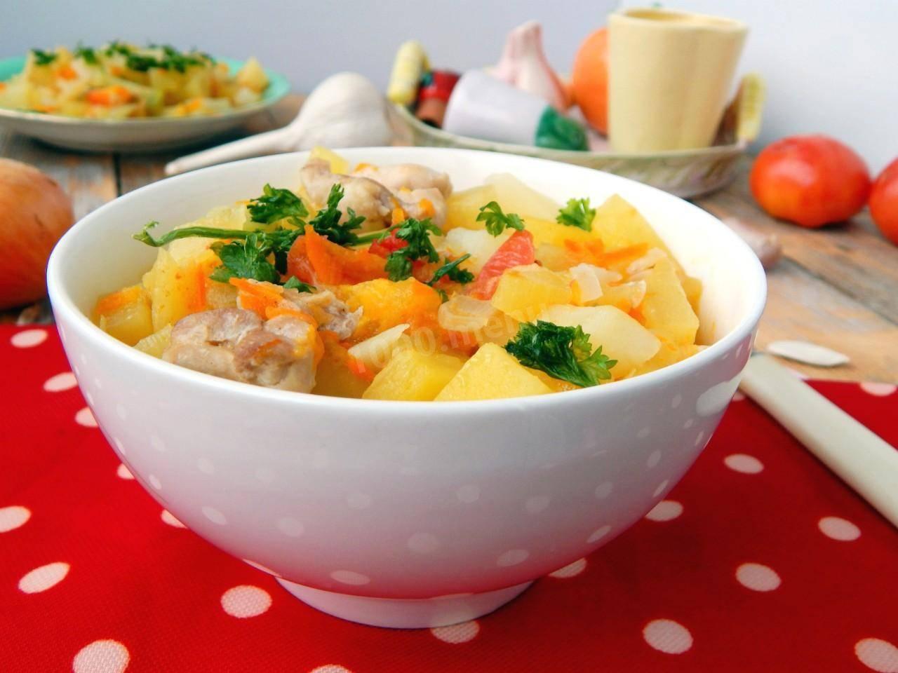 Кролик в сметане – рецепт с картошкой, грибами, морковью и томатами