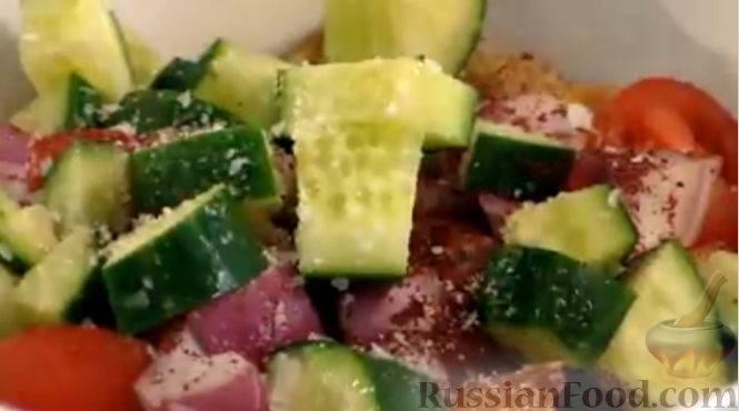 Фатуш рецепт салата с пошаговыми фотографиями