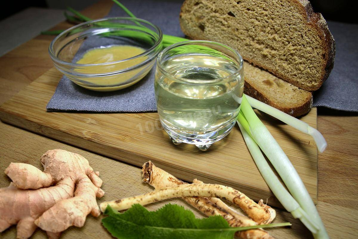 Классический рецепт хреновухи смёдом наводке