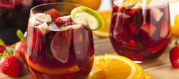 Вино сангрия - восхитительно вкусный и эффектный алкоголь для торжества