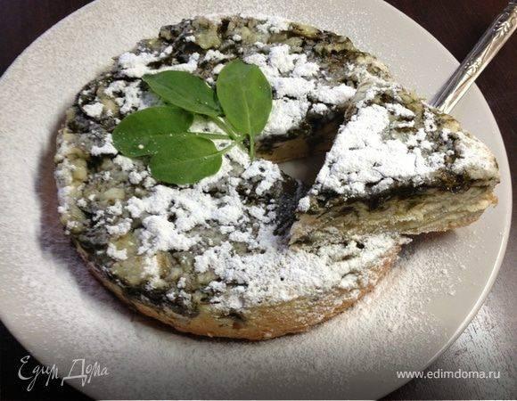 Пирог со щавелем — 7 рецептов