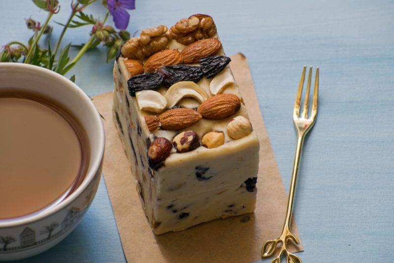 Рецепт приготовления щербета с орехами