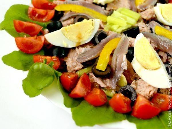 Салат нисуаз рецепты приготовления