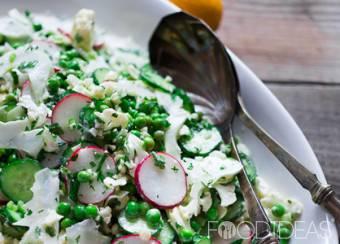 Салат хризантема рецепт с фото