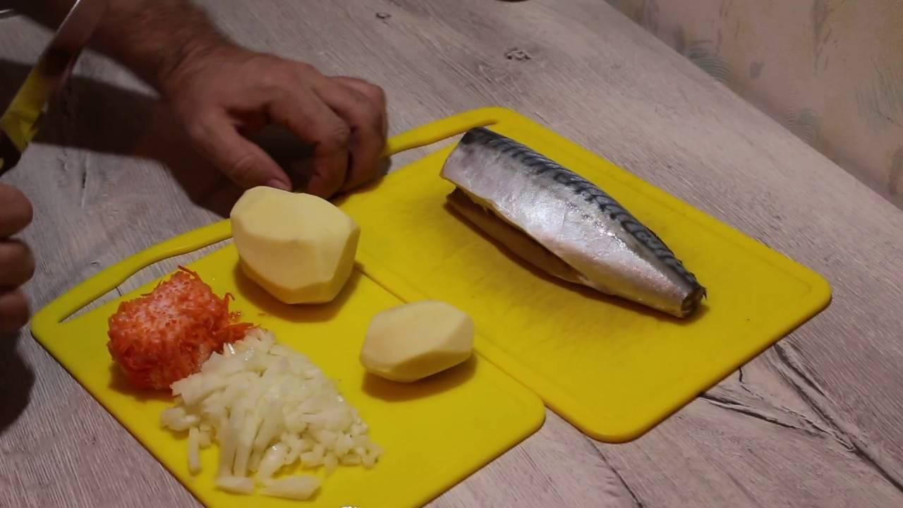 Уха из скумбрии: рецепт с фото пошагово