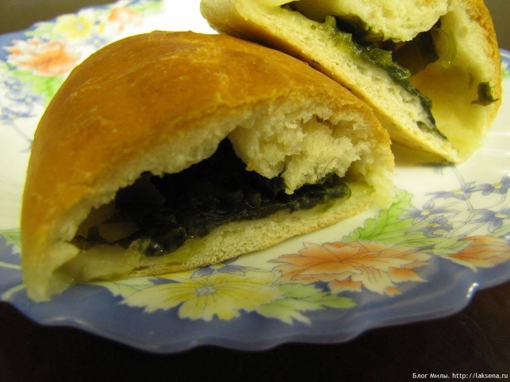Пирожки со щавелем в духовке  рецепты пирожков, приготовление пошагово, фото