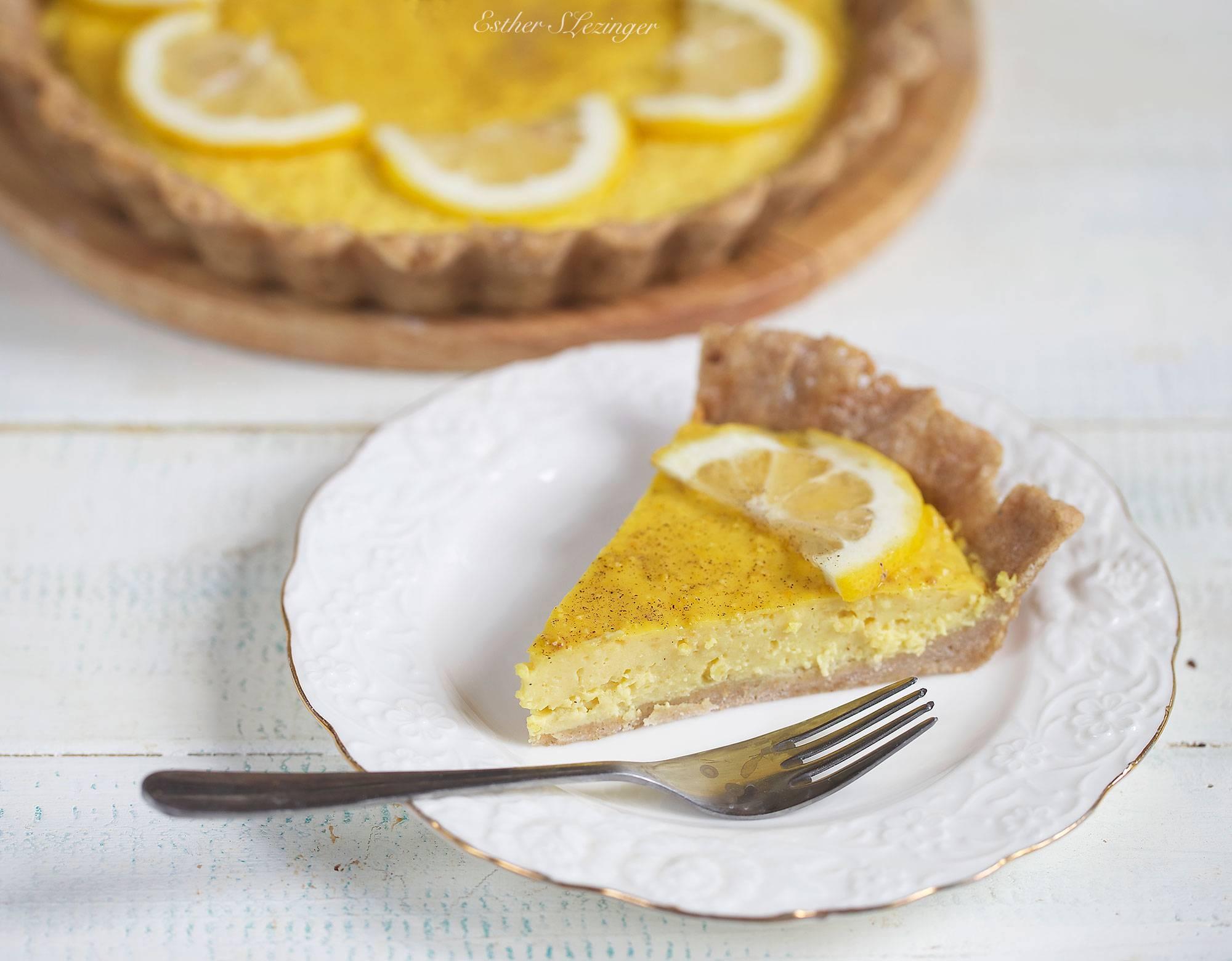 """Лимонный пирог """"дырчатый"""""""