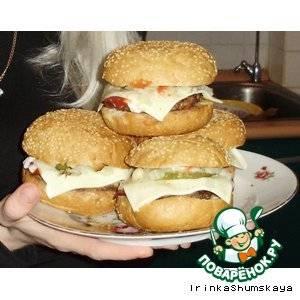 Рецепт приготовления чизбургера с фото