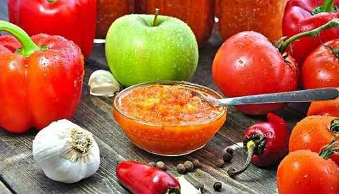 Домашняя аджика на зиму — лучшие рецепты заготовки с пошаговыми фото