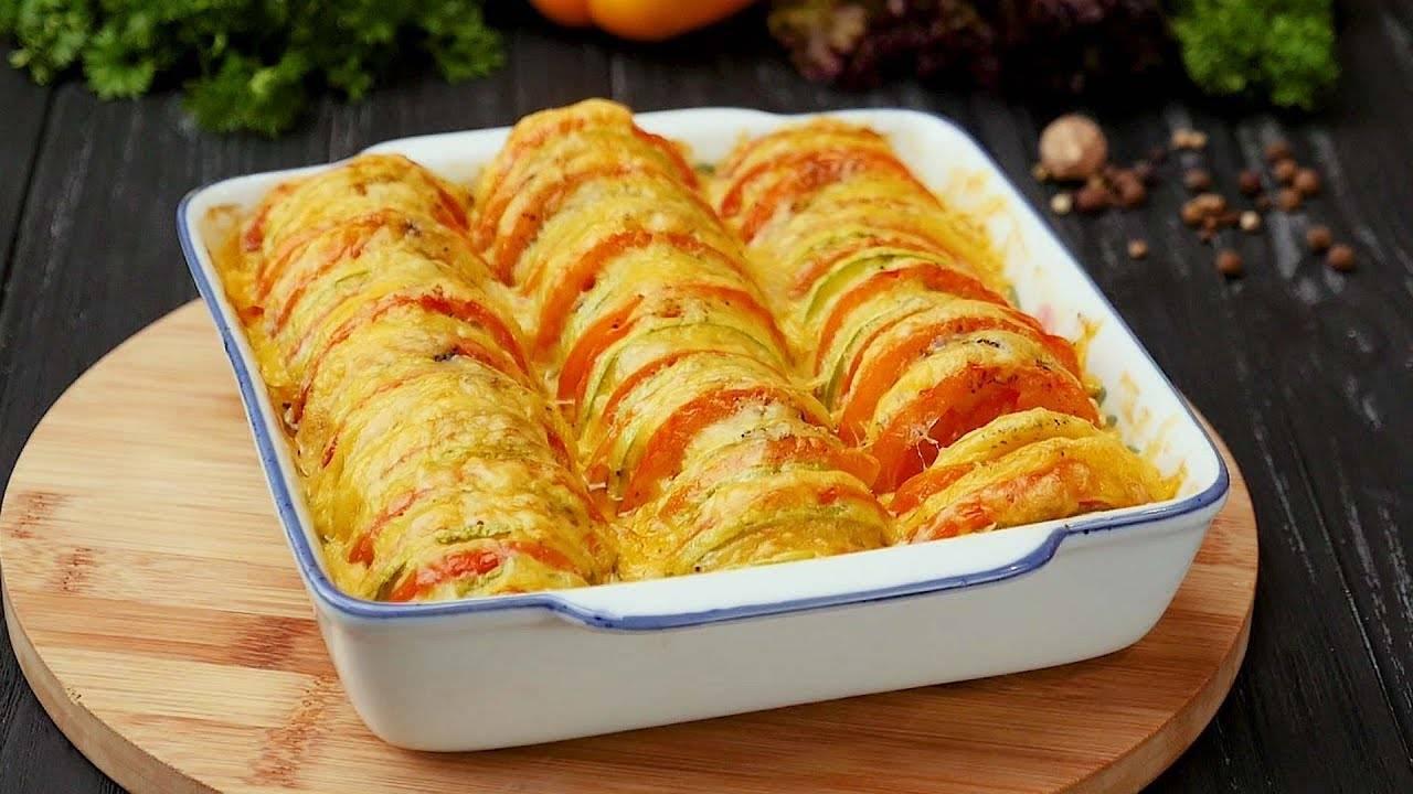 Фаршированные кабачки запечённые в духовке. быстро и вкусно!