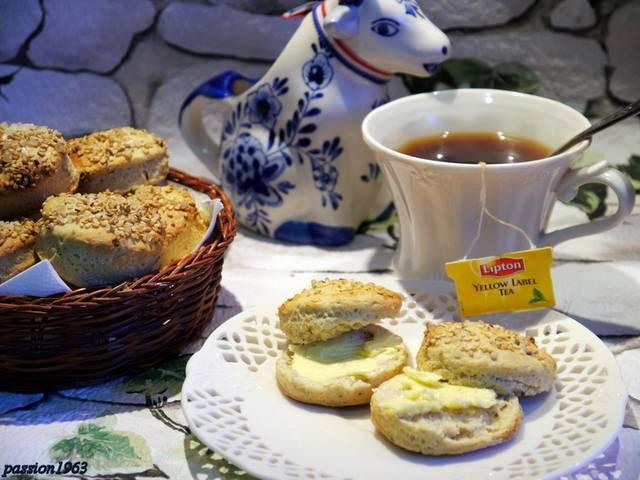 Английские сконы к чаю