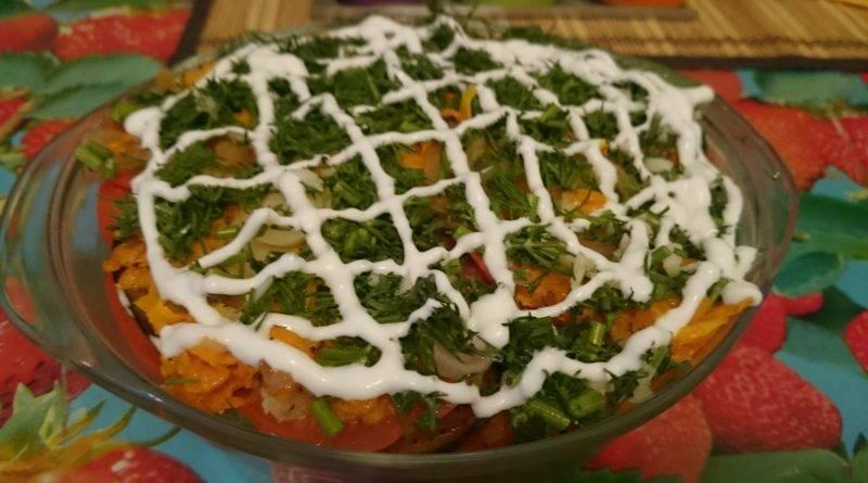 Баклажаны запеченные с помидорами. простая закуска из баклажанов