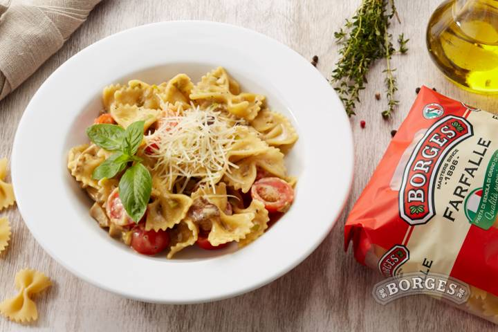 Итальянская паста с курицей в сливочном соусе — 8 оригинальных рецептов!