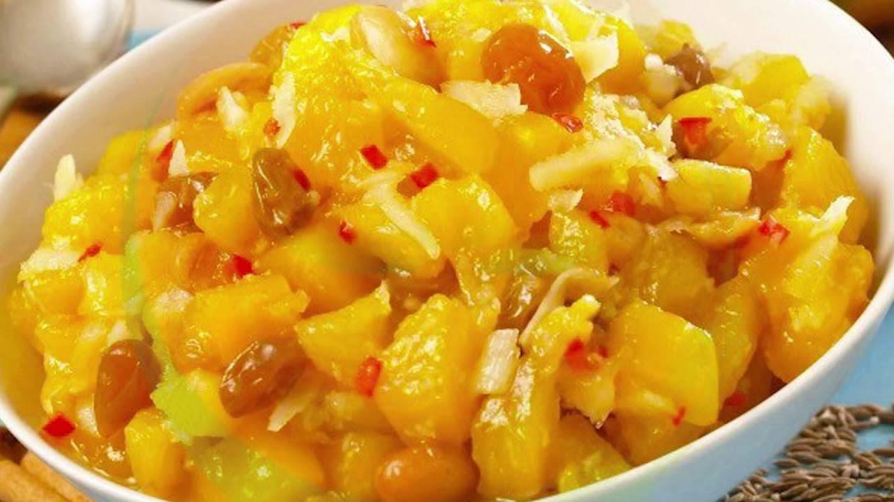 Рецепты чатни – соусов из индии