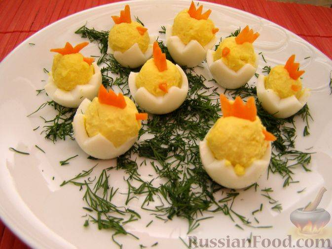 25 вкусных рецептов начинок для фаршированных яиц