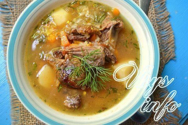 Суп из утки, рецепты; простой суп из утки с лапшой - рецепты
