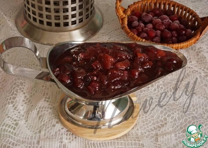 Свиные стейки с грушевым чатни рецепт | гранд кулинар