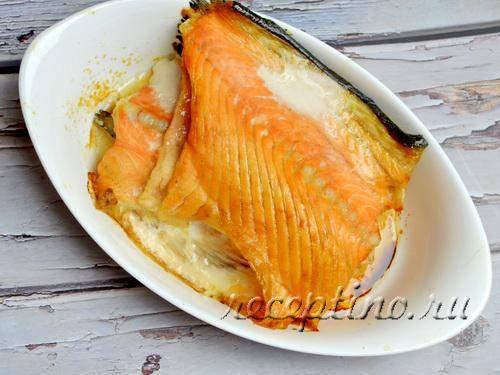 Хребты лосося
