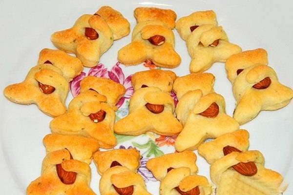 Песочное печенье мишки-мимишки - рецепт с фотографиями - patee. рецепты