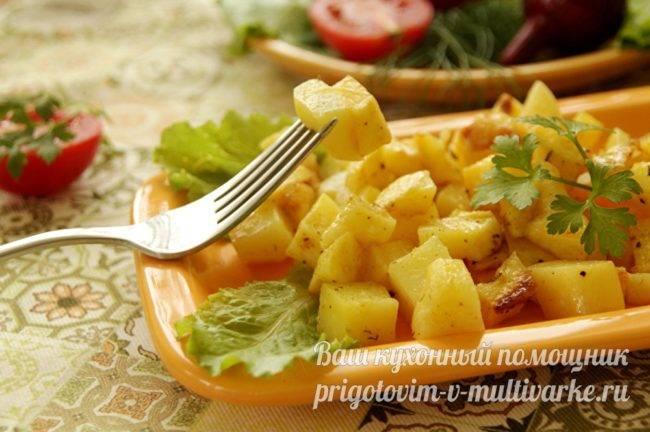 Картошка запеченная в микроволновке в пакете