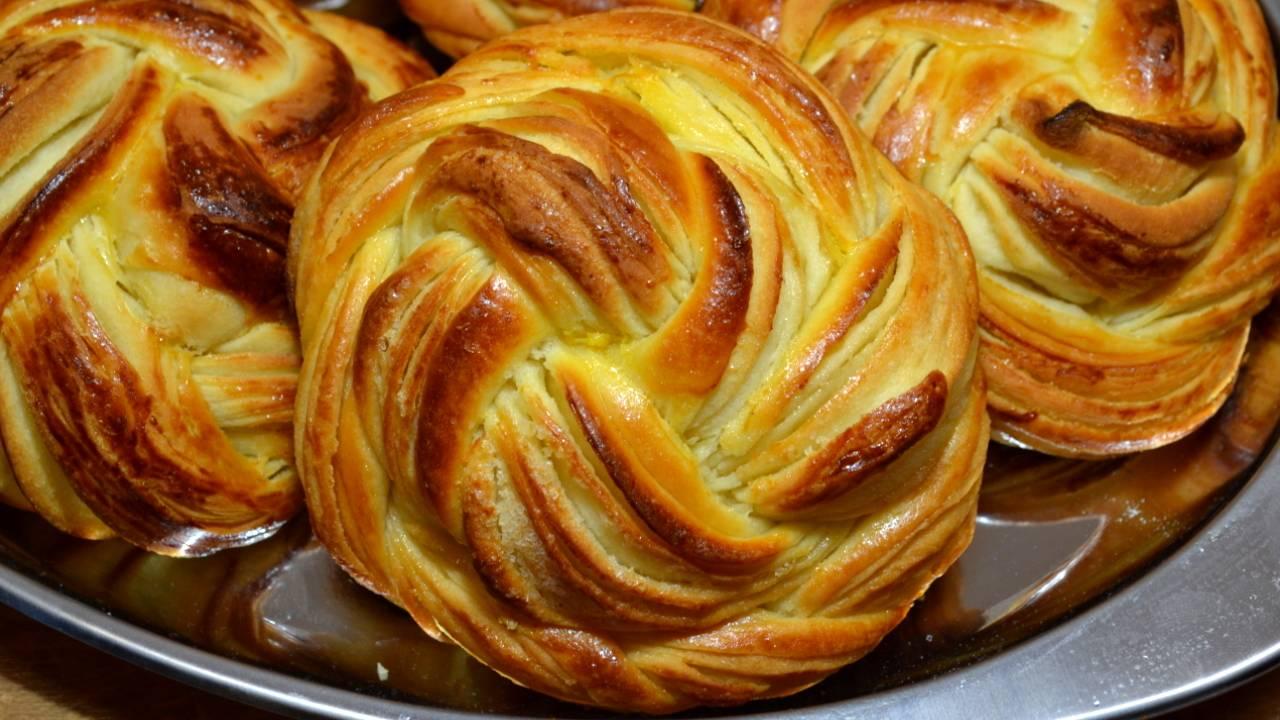 Постные пшённые булочки к завтраку