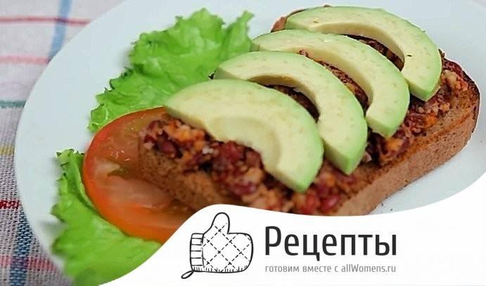 Бутерброды на завтрак - 241 домашний вкусный рецепт приготовления