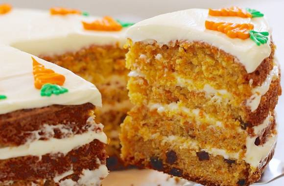 Вкуснейший морковный пирог от пьера эрме