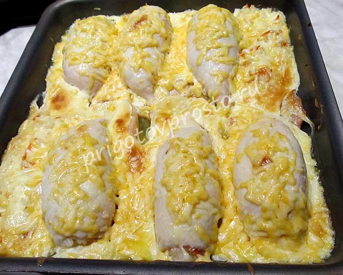 Кальмары, фаршированные рисом и грибами — простой и вкусный рецепт