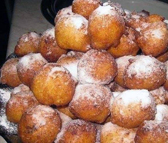 Пончики сладкие и пончики закусочные