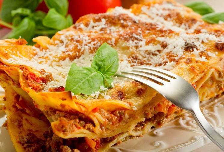 Рецепт: лазанья с макаронами