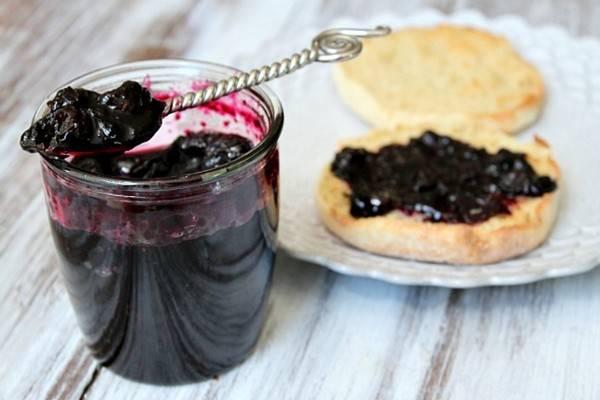 Черника, протёртая с сахаром рецепт с фото на webspoon.ru