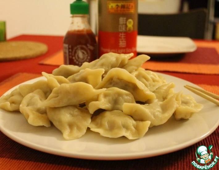 Китайские пельмени: рецепт с фото
