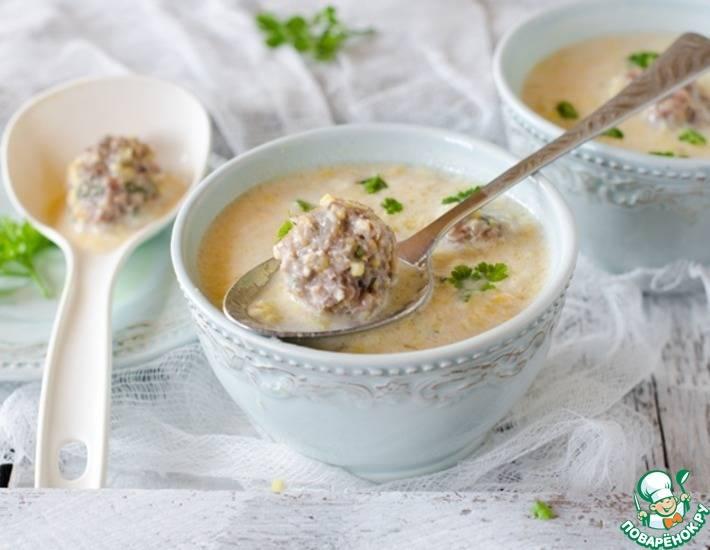 Как приготовить вкусный суп с фрикадельками