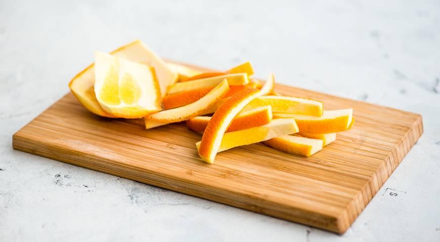 Кулинария рецепт кулинарный цукаты из залежей апельсиновых корок овощи фрукты ягоды
