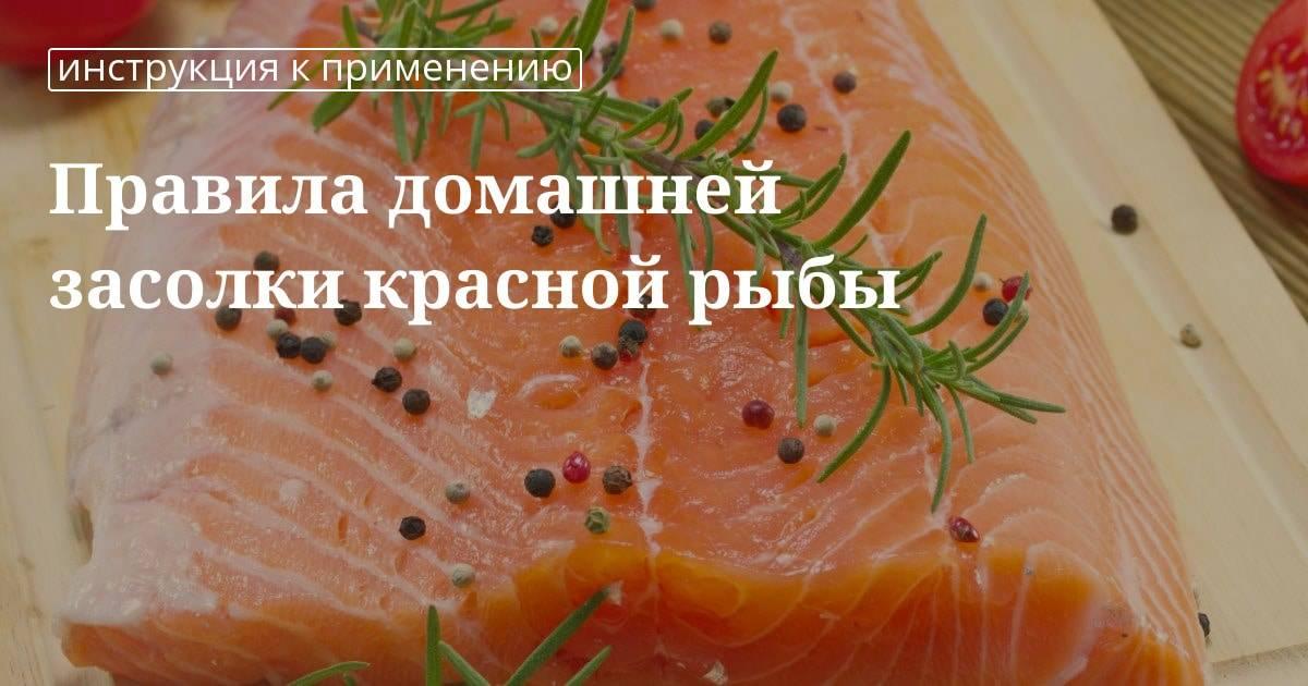 Как засолить красную рыбу вкусно и быстро