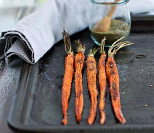 Простой и ароматный гарнир из моркови